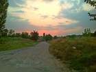 Деревенский закат