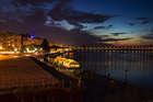 Вечер на набережной Ленина