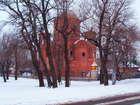 Строительство Храма Серафима Соровского
