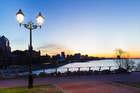 Краски вечернего города
