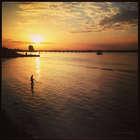 Рыбак и закат