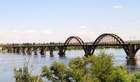 Мерефо -херсонский мост.