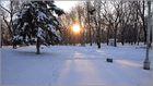 весь покрытый снегом, абсолютно весь