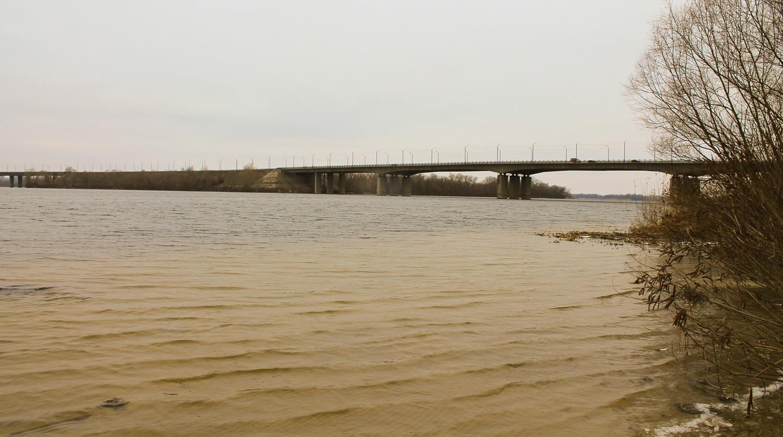 Проходя мимо кайдакского моста