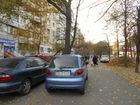 На проспекте Героев . Пешеходный бульвар.