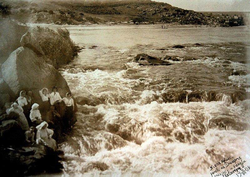 Ненасытец, порог на Днепре у входа в канал Екатерины II