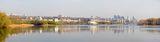 Панорама Днепра с косы.