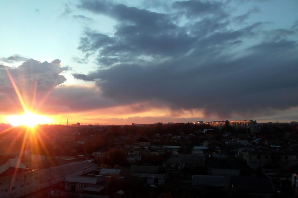 Непредсказуемый закат