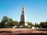 памятник Шевченко на Монастырском острове