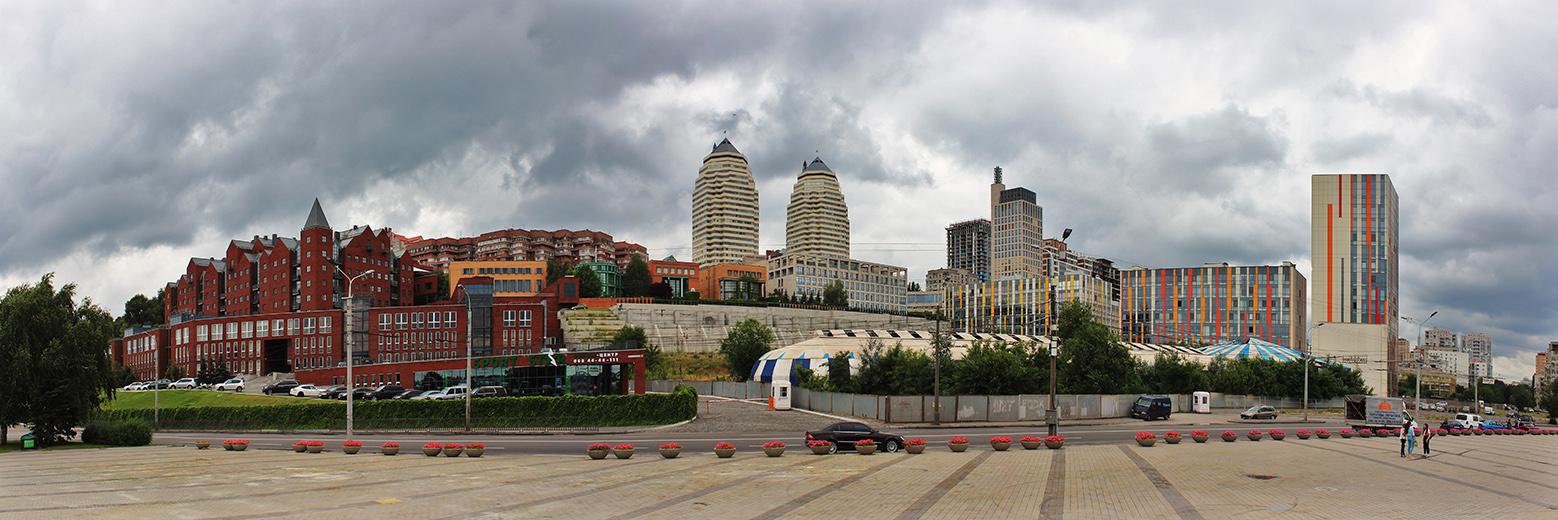 Нагорный район города