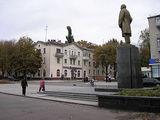 Верхнеднепровск, пр. Ленина. Памятник В.И. Ленину.