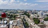 Вид с крыши Меноры