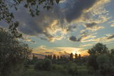 Закат над с.Новоалександровка