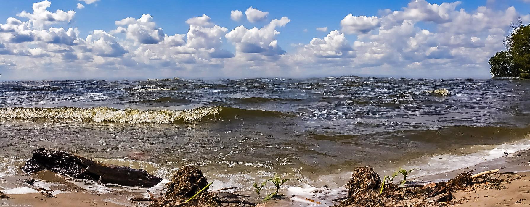Шквал приближается, Каменское море