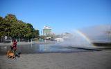 Прогулка у фонтана