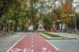 Lomonosova Monument