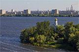 Комсомольский и левый берег :)
