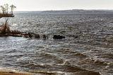 У затонувшего парохода, Каменское море