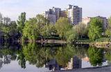 Рукотворное озеро. г. Днепр :)