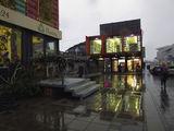 В городе дождь...