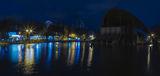 Вечер в парке Глобы
