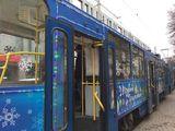 Трамвай возле ЦУМа