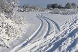 Следы на снегу, с.Могилёв