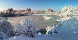 В нашем городе снег
