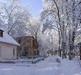 А у нас во дворе...наступила зима...