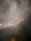 Ледяной туман при вспышке