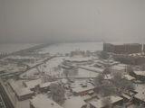 Центр заметает снегом