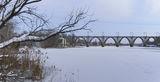 Мерефо=Херсонский мост. Зимние зарисовки.