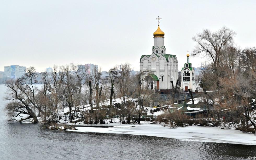 Храм Святителя Николая. Монастырский остров