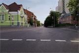 Перекрёсток Комсомольской и Серова :)