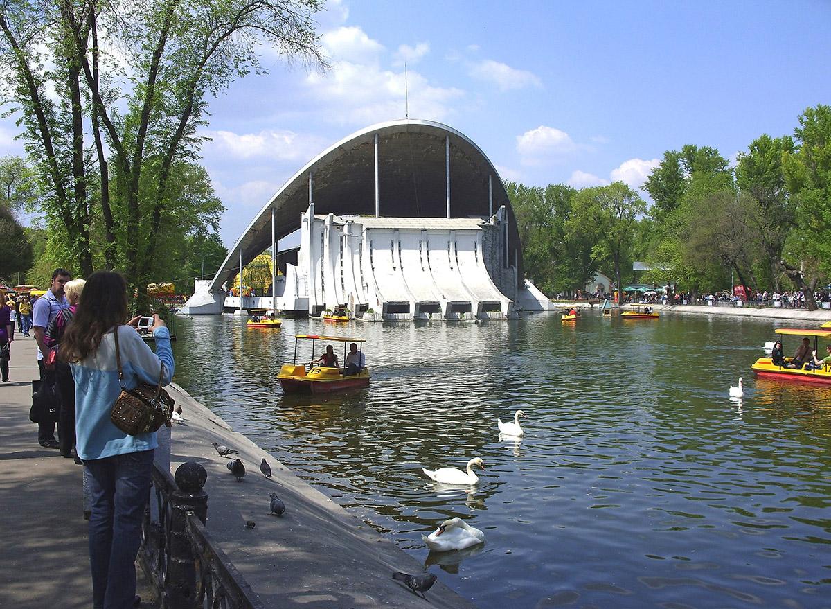 1 мая в парке Чкалова