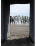 Окно к фонтану