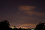 Вид на ночной город со стороны Кодак