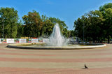 Fountain and....