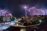 Гроза над Новомосковском