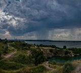 Дождь над Приднепровском