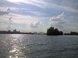 Река Днепр с левого берега