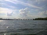 Днепр, река Днепр с левого берега