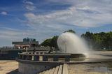 Селфи у фонтана