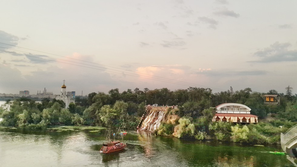 Днепровский пейзаж