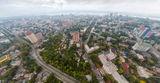 Панорама Днепра с высоты