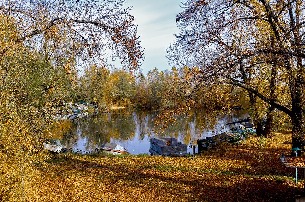 Осень на водной станции