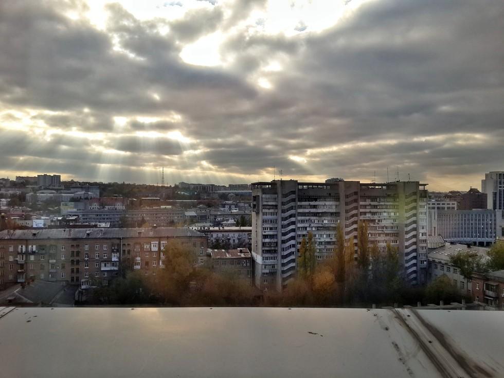 Вид сверху