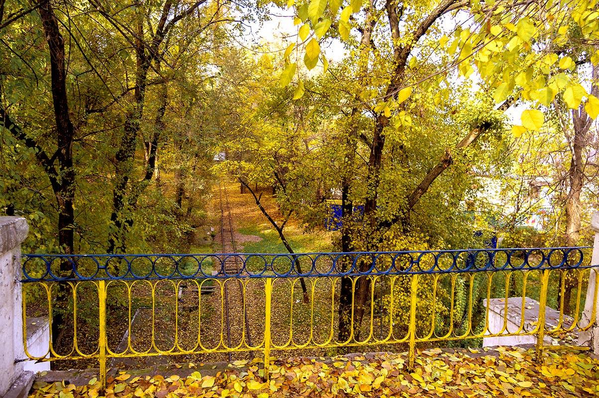 Золотая осень в парке Глобы