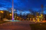 о флаге и вечернем городе