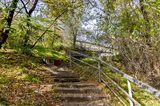 Лестница под ЖД мост